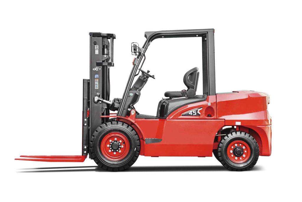 Wózek widłowy Hangcha 4000 4500 5000 Kg seria X 1024x683
