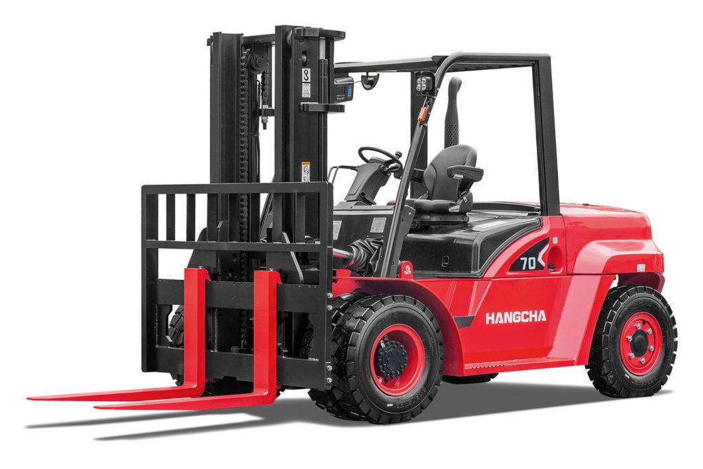 Wózek widłowy Hangcha 5000 6000 7000 8500 10000 Kg seria X 1024x683