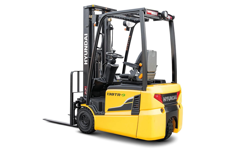 Wózek elektryczny Hyundai 1000 1250 1500 Kg 3 kołowe 24V  01 1