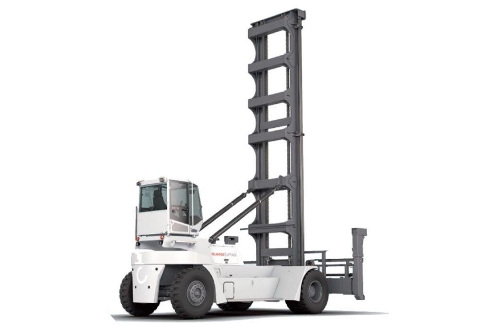 Wózek widłowy KONECRANES do pustych kontenerów 1024x683